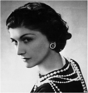 949ee276 Famed fashion designer Coco Chanel was born Gabrielle Bonheur Chanel on  August 19, 1883, in Saumur, France. With her trademark suits and little  black ...